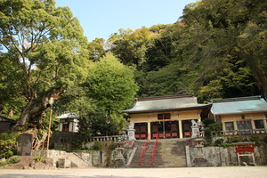 The Toi Shinto shrine precincts