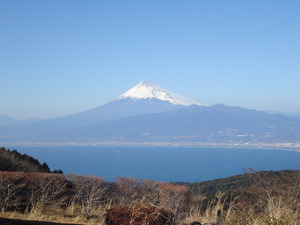 Mount Fuji from Darumayama