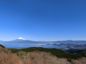Mount Fuji ① January from Mt. Dharma rest house