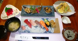 Lunch set 1,200 yen