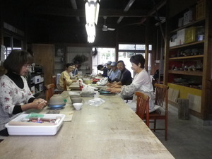 Ceramic art section