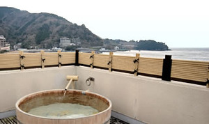 Chartered open-air bath