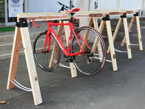 LAC spends saddle for cycle and uses