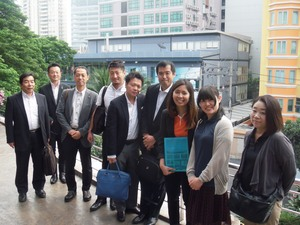 IIP member, the Izu City staff and member of local sightseeing communication in Thailand