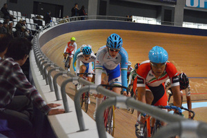 2016 Asia bicycle race championship that was held in Izu velodrome