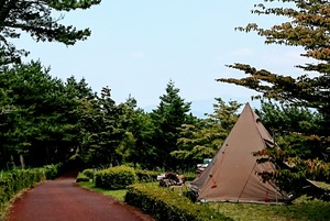Dharma Yamatakahara campground (as for the photograph free site)